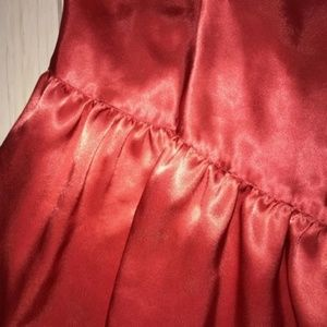 Victoria's Secret Intimates & Sleepwear - Victoria's Secret Orange Gold Label Satin Chemise